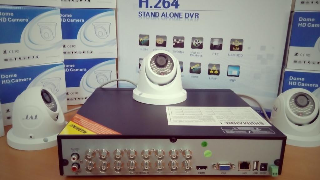 HD-TVI TRIBRID DVR. HD системи за видеонаблюдение