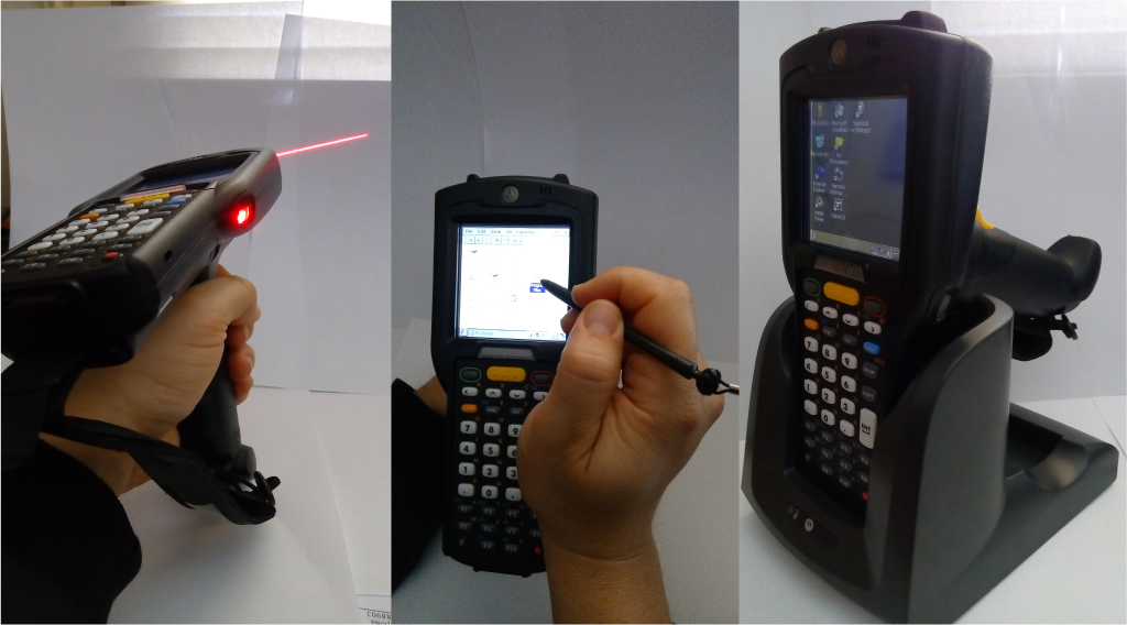 Работни снимки - Тестове в сервиза на MOTOROLA MC3190-GUN