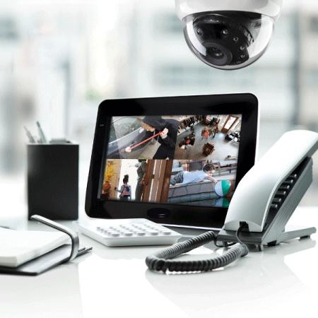 Проектиране и изграждане на системи за видеонаблюдение.