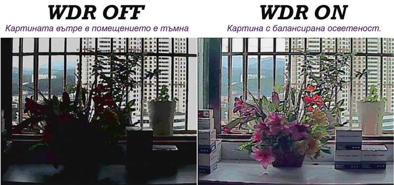 Камери с динамичен обхват WDR