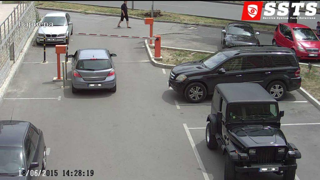 IP камера за паркинг