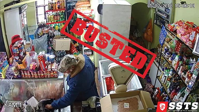 Подпийнал крадец пребърква чанта с пари