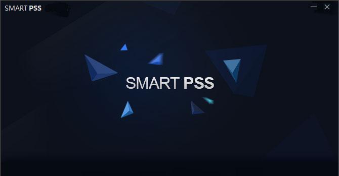 SmartPSS софтуер за компютър.